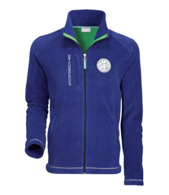 Флисовая куртка Porsche Unisex Fleece Jacket, Blue