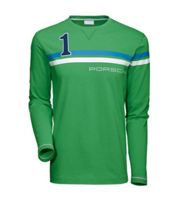 Футболка унисекс Porsche Unisex Long-Sleeved Shirt, Green