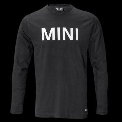 Мужская майка Mini Men's Wordmark Longsleeve, Black