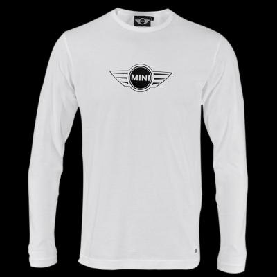 Мужская майка Mini Men's Logo Longsleeve, White