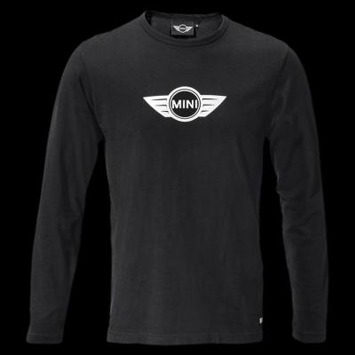 Мужская майка Mini Men's Logo Longsleeve, Black