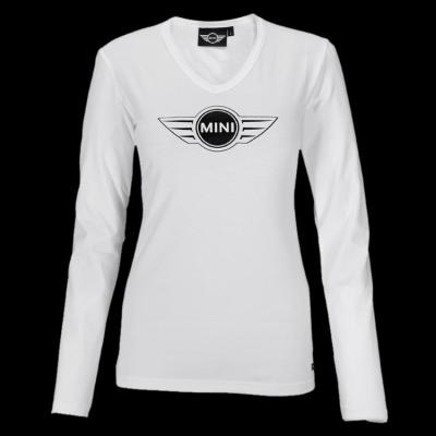 Женская майка Mini Ladies' Logo Longsleeve, White