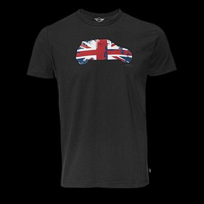 Мужская футболка Mini Men's Britcar T-Shirt, Black