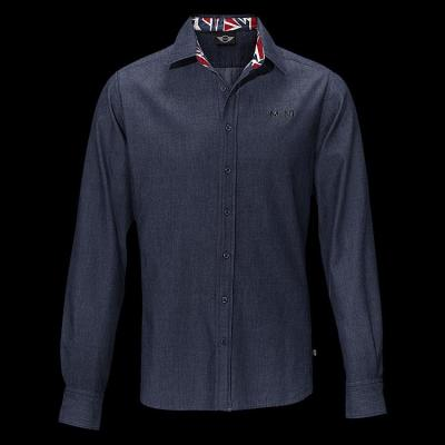 Мужская рубашка Mini Men's Denim Business Shirt