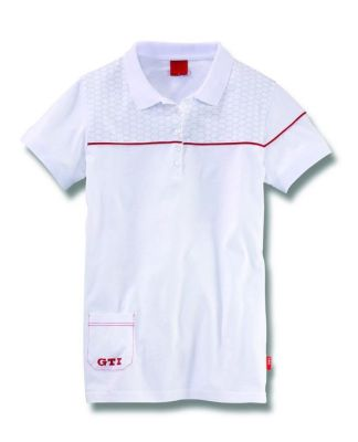 Женская рубашка поло Volkswagen Ladies GTI Polo Shirt White
