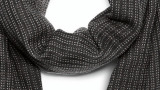 Шерстяной шарф Audi Wool scarf by PZero, black/grey, артикул 3131401900