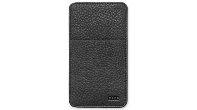 Кожаный чехол для iPhone5 Audi Leather case iPhone5, black
