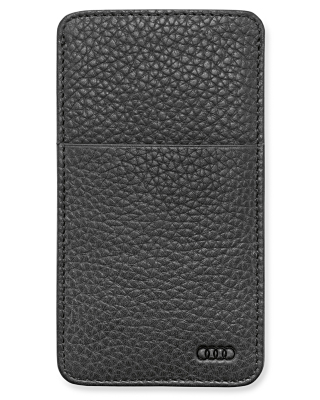 Кожаный чехол для Samsung S4 Audi Leather case, black