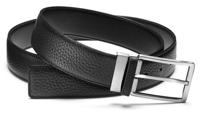 Кожаный ремень Audi Leather Belt Broad, Black