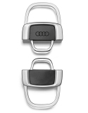 Брелок Audi Metal key ring, divisible, артикул 3181400400
