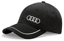 Универсальная бейсболка Audi Unisex Baseball cap, black