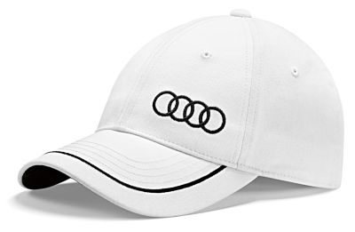 Универсальная бейсболка Audi Unisex Baseball cap, white