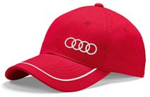 Универсальная бейсболка Audi Unisex Baseball cap, red