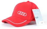 Универсальная бейсболка Audi Unisex Baseball cap, red, артикул 3131400910