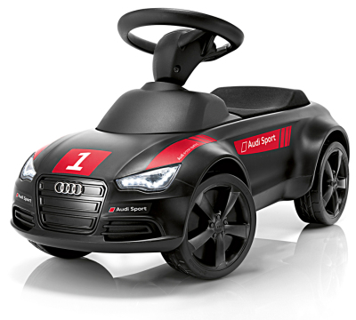 Детский автомобиль Kids Audi Junior quattro motor sport, black