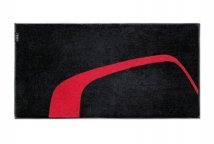 Полотенце Audi Towel, L, black/red