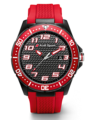 Наручные часы Audi Sport Watch, red/black