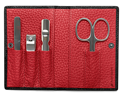 Маникюрный набор Audi Sport Manicure set, black/red