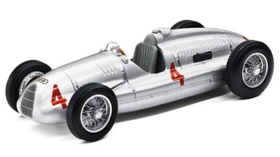 Модель автомобиля Audi Auto Union Type D, Scale 1:43, Silver