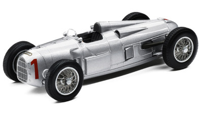 Модель автомобиля Audi Auto Union Type A, Scale 1:43, Silver