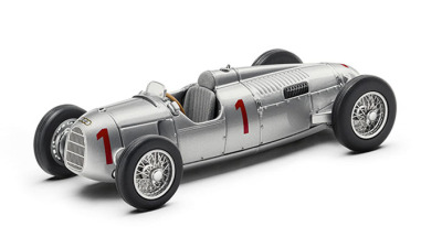 Модель автомобиля Audi Auto Union Type B, Scale 1:43, Silver