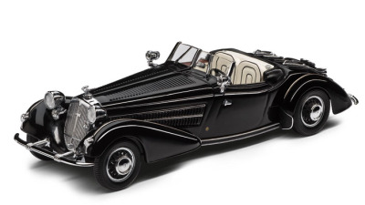 Модель автомобиля Horc 855 Roadster, Scale 1:43, Auto Union, black