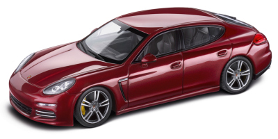Модель автомобиля Porsche Panamera 4, Scale 1:43, Ruby Red Metallic