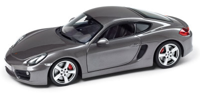 Модель автомобиля Porsche Cayman S, 1:18 Scale, Agate Grey Metallic