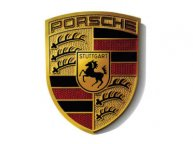 Наклейка герб Porsche Crest Sticker, Size XL