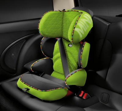 Детское автокресло Mini Junior Seat , Group 2/3, Vivid Green Print