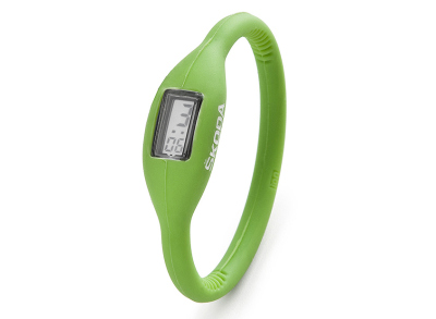 Часы Skoda Silicone Digital Watch, Green
