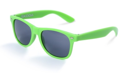 Солнцезащитные очки Skoda Sunglasses green with dark lenses, Green