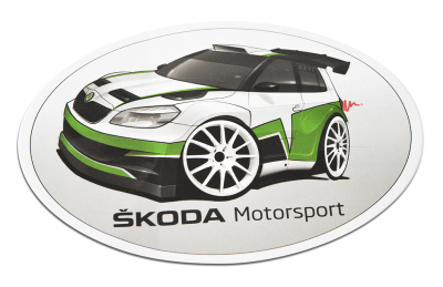 Наклейка Skoda Sticker children Motorsport