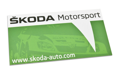 Наклейка Skoda Sticker Motorsport