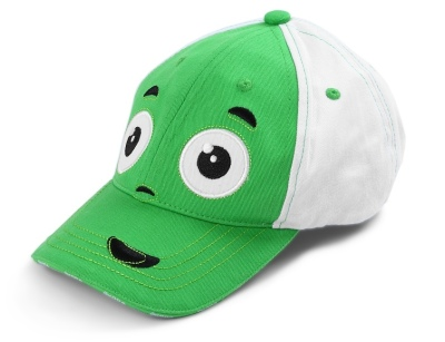 Детская бейсболка Skoda Children's Baseball Cap, Green/White
