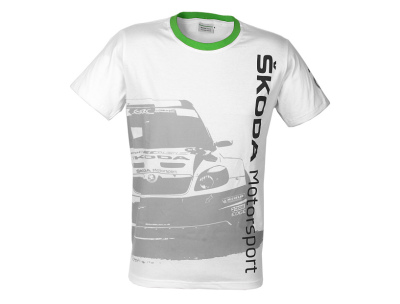 Футболка унисекс Skoda Cotton T-shirt Motorsport