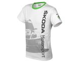 Футболка унисекс Skoda Cotton T-shirt Motorsport, артикул 91985M