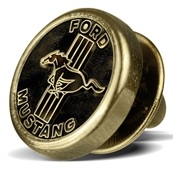 Значок Ford Mustang Pin old varnished