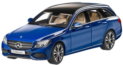 Модель автомобиля Mercedes C-Class Estate, Avantgrade, Scale 1:18, Brilliant Blue