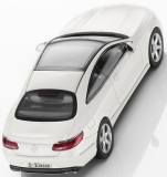 Модель автомобиля Mercedes S-Class Coupé, Scale 1:43, Designo Diamond White Bright, артикул B66961239