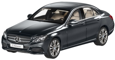 Модель автомобиля Mercedes C-Class, Saloon, Avantgrade, Scale 1:18, Tenorite Grey