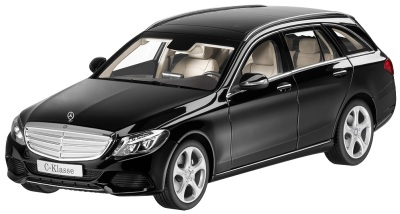 Модель автомобиля Mercedes C-Class Estate, Exclusive, Scale 1:18, Black