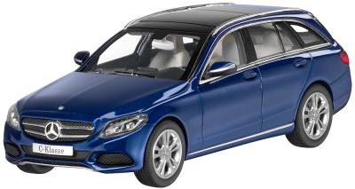 Модель автомобиля Mercedes C-Klasse, T-Modell, Avantgrade 1/43 Blue