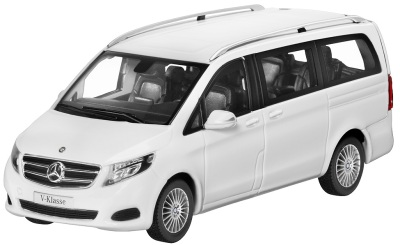 Модель автомобиля Mercedes V-Klasse 1/43 White