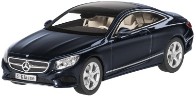 Модель автомобиля Mercedes S-Class Coupé, Scale 1:43, Cavansite Blue