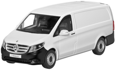 Модель автомобиля Mercedes Vito, Panel Van, Scale 1:43, Arctic White