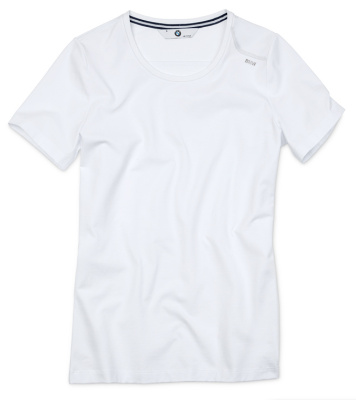 Женская футболка BMW T-Shirt (round neckline), Ladies, White