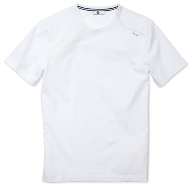 Мужская футболка BMW T-Shirt (round neckline), Men, White