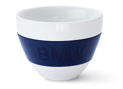 Пиала BMW Design Bowl, White - Dark Blue