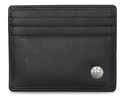 Мужская кредитница BMW Basic Men's Credit Card Holder, Black